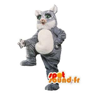 Mascotte du jour chez SPOTSOUND: Mascotte de chat gris et blanc de taille géante - Costume de chat . Découvrez les mascottes @spotsound_mascots #mascotte #mascottes #marketing #costume #spotsound #personalisé #streetmarketing #guerillamarketing #publicité . Lien: https://www.spotsound.fr/fr/3032-mascotte-de-chat-gris-et-blanc-de-taille-géante-costume-de-chat.html