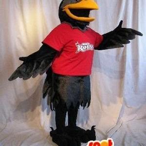 Mascotte du jour chez SPOTSOUND: Mascotte représentant un corbeau noir, déguisement d'oiseau . Découvrez les @spotsound_mascots #mascots - Lien : https://bit.ly/3cinIEg #oiseau #déguisement #d'oiseau #plumes #costume #rouge #et #noir #costume #à #plumes  URL: https://www.spotsound.fr/fr/2043-mascotte-représentant-un-corbeau-noir-déguisement-d-oiseau.html