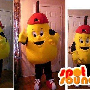Mascotte du jour chez SPOTSOUND: Mascotte en forme de grosse poire jaune - Déguisement de poire . Découvrez les mascottes @spotsound_mascots #mascotte #mascottes #marketing #costume #spotsound #personalisé #streetmarketing #guerillamarketing #publicité . Lien: https://www.spotsound.fr/fr/2722-mascotte-en-forme-de-grosse-poire-jaune-déguisement-de-poire.html