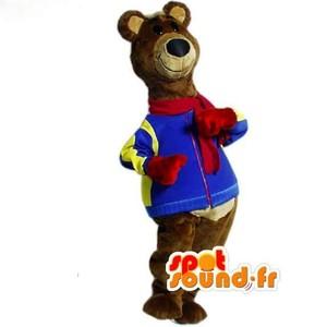 Mascotte du jour chez SPOTSOUND: Mascotte d'ours marron habillé en tenue d'hiver - Costume d'ours . Découvrez les mascottes @spotsound_mascots #mascotte #mascottes #marketing #costume #spotsound #personalisé #streetmarketing #guerillamarketing #publicité . Lien: https://www.spotsound.fr/fr/3059-mascotte-d-ours-marron-habillé-en-tenue-d-hiver-costume-d-ours.html